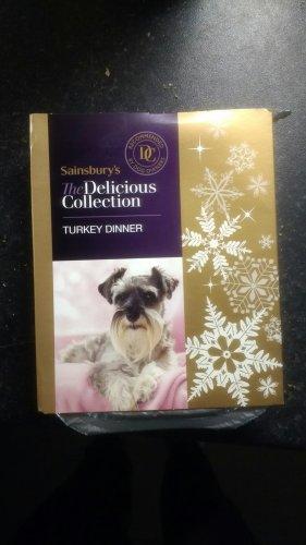 sainsburys turkey dinner dog food - 10p!