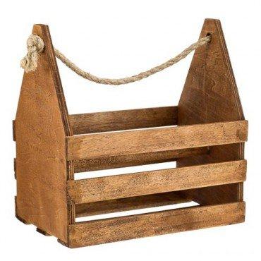 Wooden Beer Crate For 6 Bottles £0.25 @ Poundland