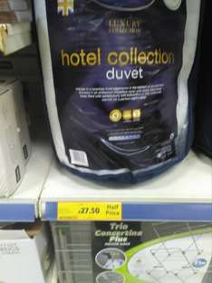 £27.50 Silentnight hotel collection super king 13.5 tog duvet @ tesco instore, Bangor N.I.