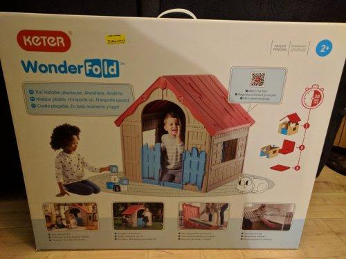 Keter WonderFold folding play house £17.49 Morrisons instore (Felixstowe)