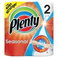 Plenty fun prints kitchen towels, 2 rolls, 90p @ Waitrose