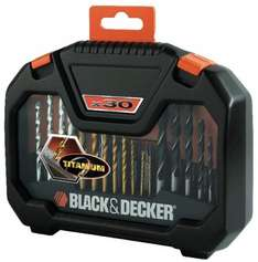 Black & Decker 30-Piece Drill and Screwdriver Accessory Set - was £14.99 now £8.99 with code (Possible 5% cashback) @ Robert Dyas (Free C&C)