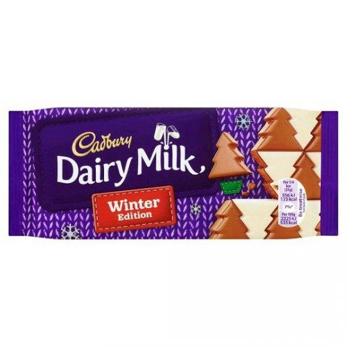 Cadbury's Winter Wonderland Dairy Milk (100g) 9p @ sainsbury's