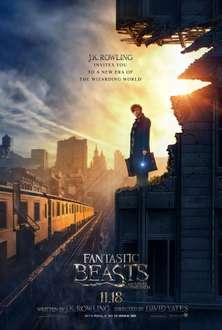 Fantastic Beasts and Where to Find Them (Amazon Instant Digital release) £7.99