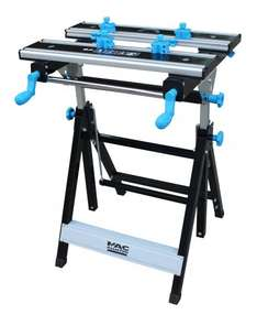 MAC ALLISTER FOLDABLE VICE JAW CLAMP WORKBENCH, (W)550MM £35 @ B&Q (free C&C)