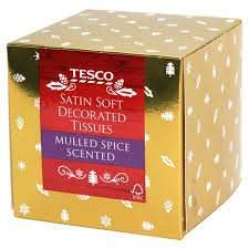 Tesco mulled spice tissues 31p instore (found Norwich store)