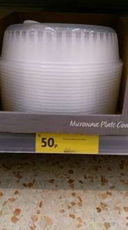 Microwave food covers at Morrison's (instore) - 50p
