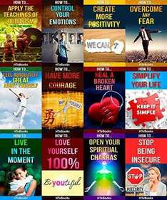 12 books in 1 - Happiness, Self-Esteem, Personal Growth, Stress Management etc. Kindle Ed. Was £13.99 now 99p Amazon