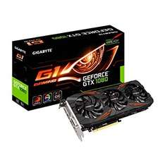 GIGABYTE NVIDIA GeForce GTX 1080 G1 GAMING @ Amazon