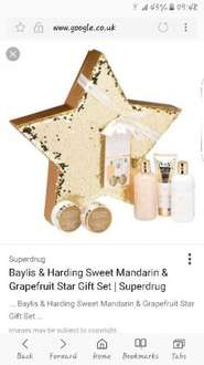 Baylis and harding sweet mandarin and grapefruit  star gift set reduced from £30 instore - £3.75 @ Tesco
