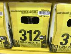 312 Urban Wheat Ale 12 pk reduced to clear £4.95 @ Tesco instore
