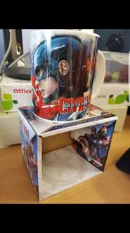 Captain America Civil War Mug At Burnley Wilko For £0.62
