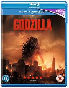 Godzilla [Blu-ray] [2014] [Region Free] £4.28 (+ £1.99 non Prime) @ Amazon - Sold by Shop4World and Fulfilled by Amazon