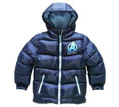 Kids clothing sale - Avengers padded boys jacket was £19.99 now £7.99, girls leopard print jeans was £12 now £2 - more in post @ Argos