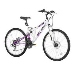 vertigo monteaux 24 dual suspension Mountain Bike £75 @ Tesco
