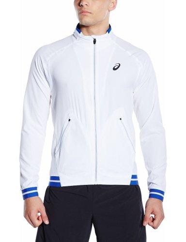 Asics Men's Club Woven Jacket Tennis / track top Sir Large £17.16 Prime / £21.15 Non Prime @ Amazon