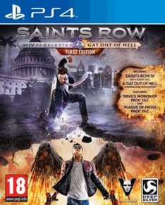 Saints Row IV Re-Elected & Gat Out Of Hell (PS4) £9.60 Delivered @ GAME