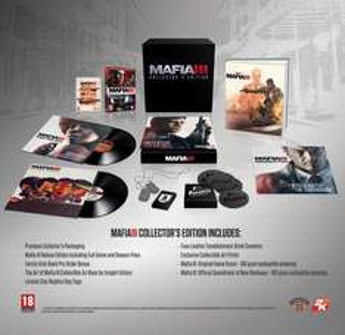 Mafia III Collector's Edition (PS4) @ GAME