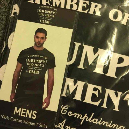 Men's slogan t shirt. £1 @ b&m
