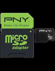 PNY Micro SD Cards from £3.99 for 8GB, £4.99 16gb, £6.99 32gb and £12.99 for 64gb at CPW