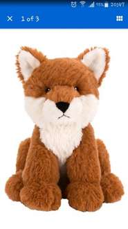 John Lewis Advert - Olivia the Fox (Sold Out Online) £3.60 instore @ John Lewis