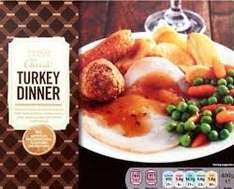 Tesco Classic Turkey Dinner 400g reduced to 50p instore