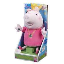 Peppa Pig Singing Princess Peppa Soft Toy from £19.95 down to £4.98 instore at tesco colchester