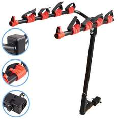 4 cycle bike rack for the car £9.99 free delivery on Ebay (sold by speedy-parts-5)