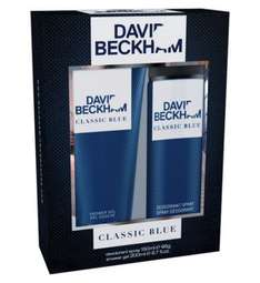 HALF PRICE Beckham Classic Blue Toiletry Gift Set @ boots. FREE C&C. - £3.25 (plus free fragrance sample - see post)