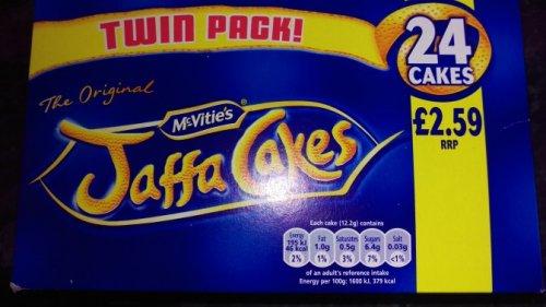 Mcvites Jaffa Cakes 24 cake twin pack £1.00 @ Farmfoods