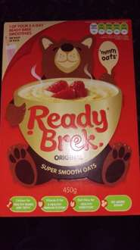 Ready Brek super smooth oats 450g 99p @ farmfoods
