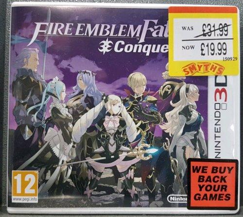 Fire Emblem Fates: Conquest 3DS £19.99 @ Smyths Toys instore