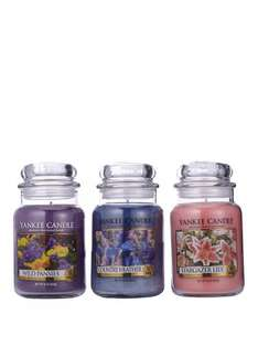Yankee Candle Set Of 3 Large Classic Jars - special Floral £40 at Very or £20 with code