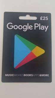 Buy any Google Play gift card at Sainsburys and get half price off a music album from the Google Play store