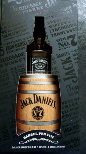 jack daniels miniature pen pot barrel instore at Sainsbury's for £10