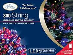 Benross The Christmas Lights 300 Ultra Bright LED String Chaser Lights £12.12 @ Amazon (Prime or add £2.99)