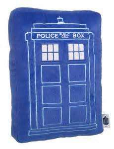 Dr who Tardis cushion home bargains instore for £2.49