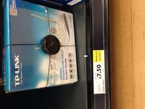 TP LINK TD W8968 wireless modem router instore at Tesco (Flamborough) - £7.50