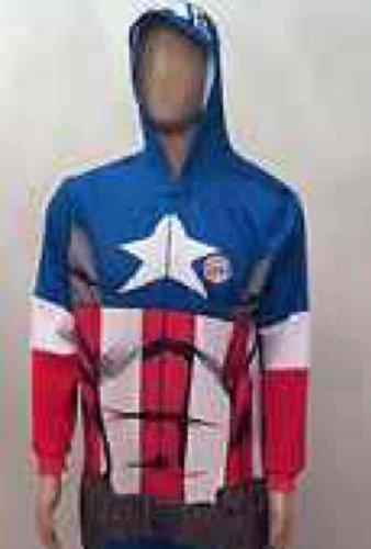 Captain America Marvel Mens Onesie Primark Chester - £3