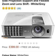 benq projector W1070+ (latest one with optional wireless) £399 - Prime Now
