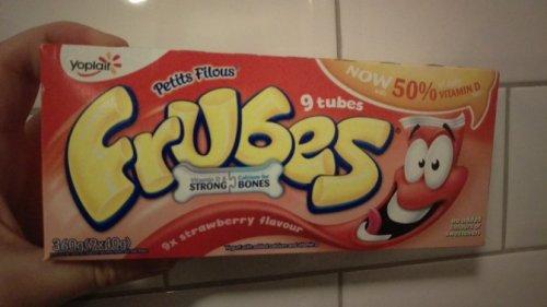 Frubes 9 x 40g £1 all flavours @ Tesco