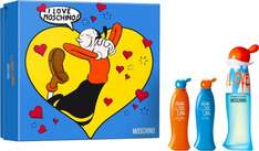 Moschino cheap &chic I love love edt giftset use code ESCENTUAL20 to take 20% of bringing the price down to 12.52