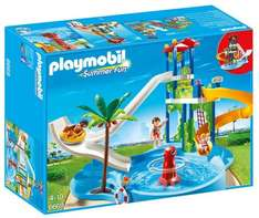 Playmobil Water Park with Slides £23.47 - Amazon