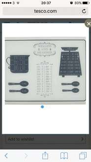 Weights & measures £5 @ Tesco Direct (Free C&C)