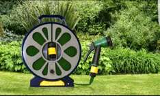 50ft Hose & Reel With Spray Gun £6.98 + £1.99 Delivery @ Groupon