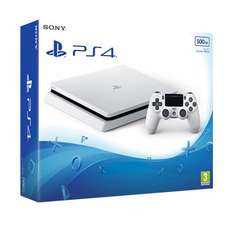 Sony PlayStation 4 Slim 500GB Glacier White Console at Shopto for £249.85