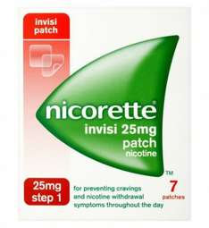 nicorette patches half price @ boots (all strengths) free click and collect - £7