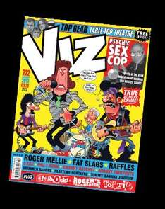 GET 3 ISSUES OF VIZ MAGAZINE FOR JUST £1