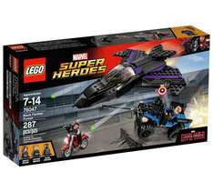 Lego Super Heroes Captain America Civil War Black Panther Pursuit Playset £23.98 @ Amazon