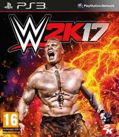 WWE 2K17 PS3/XBOX360 £15.99 GAME